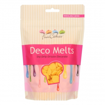 Deco Melts FunCakes Gelb 250g.
