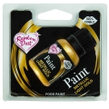 Speisefarbe Paint Metallic Gold light 25ml. Rainbow Dust